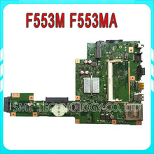 for ASUS A553M A553MA D553M D553MA F553M F553MA motherboard Laptop motherboard X553ma Rev2.0 mainboard DDR3 Tested well