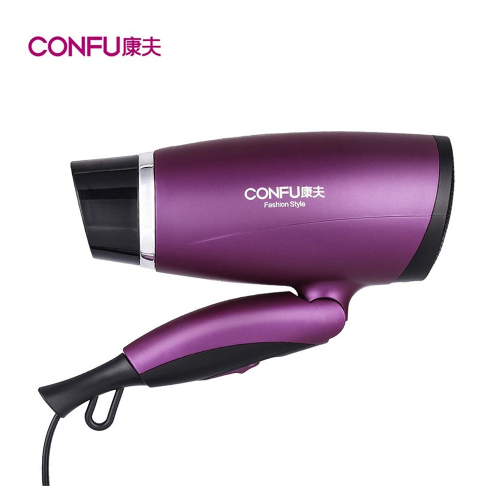 цена на Foldable Hot Cold Air Hair Dryers 1800W Professional Powerful Hair Dryer Portable Travel Home Use Compact Hair Blower Hairdryer