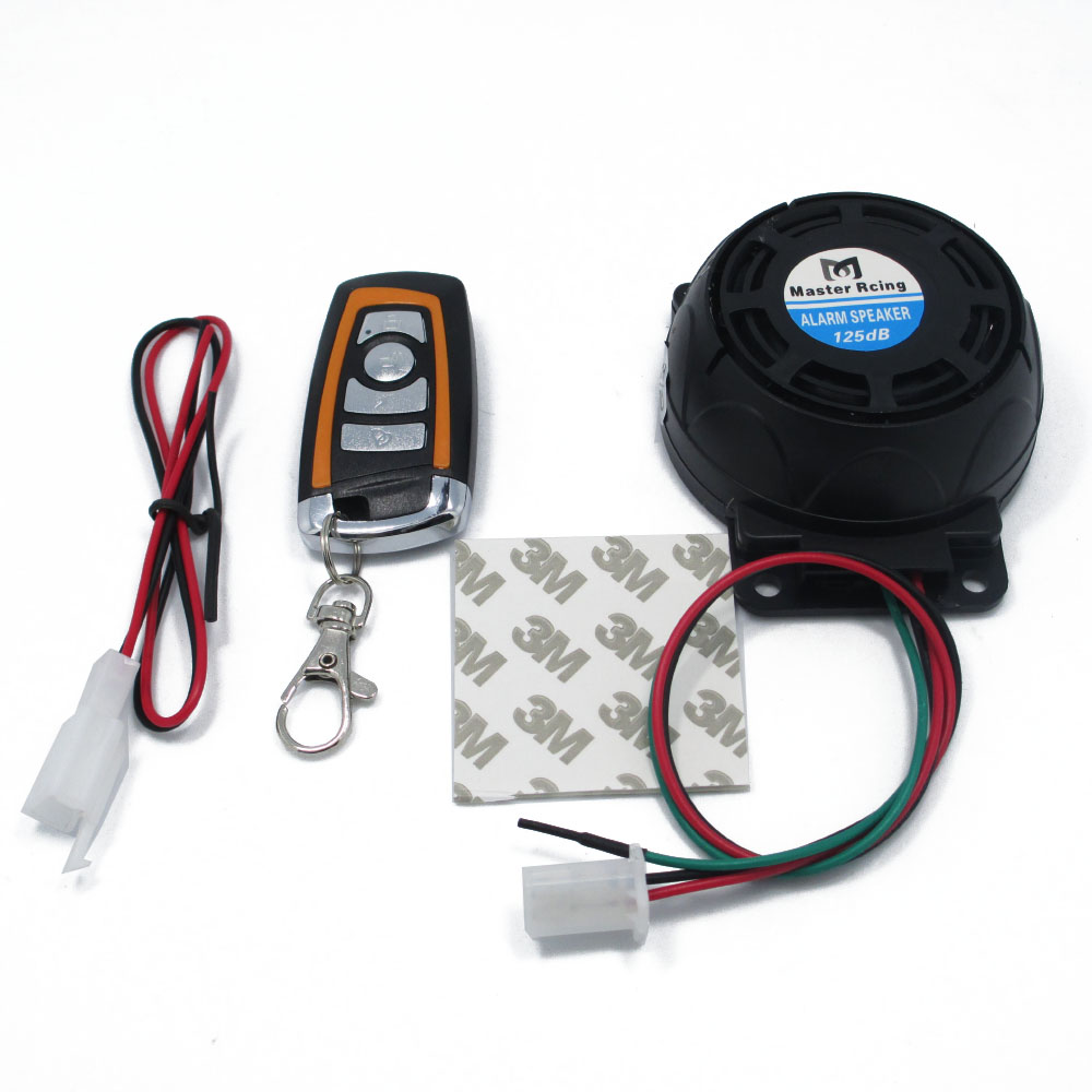 12V Scooter Alarm System Motorcycle Bike Anti Theft ...