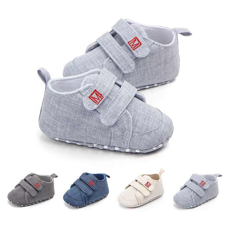 Classic Canvas Baby Shoes Newborn First
