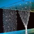 3 M x 3 M LED String luzes de natal decorações ao ar livre Do Pátio Luzes Garland Cortina paralizer para o Casamento do Ano Novo iluminação