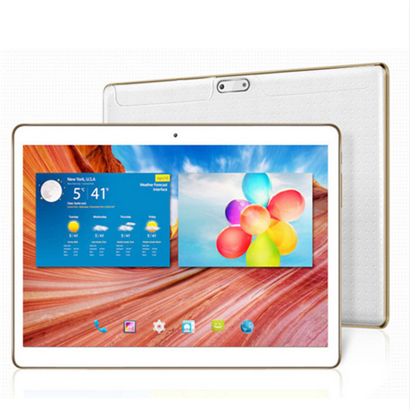 SANMEIYI  T805c 10.1 inch Tablet PC Octa Core4GB RAM 32GB ROM Dual SIM Cards Android 6.0 GPS Tablet PC 10 +Gifts+3G Phone 你好 法语4 学生用书 配cd rom光盘