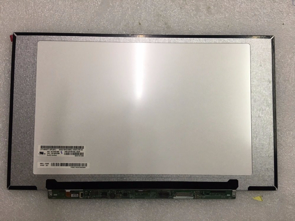 14.0 LED LCD Screen LP140WF7-SPB1 for Lenovo Ideapad 520S-14IKB 80X2 Yoga 710 14 DP/N FRU:5D10K81085 IPS FHD 1920*1080 Nontouch new original for lenovo yoga 720 13ikb yoga 720 13 screen assembly lp133wf4 spb1 1920 1080 lcd screen