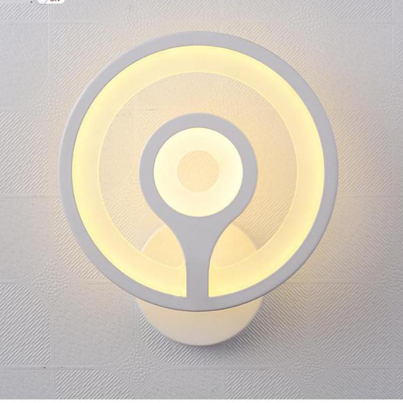 Bedside Bedroom Wall Lamp Led Childrens Room Simple led Lamp Acrylic Personality Hallway Balcony  Modern Wall LightBedside Bedroom Wall Lamp Led Childrens Room Simple led Lamp Acrylic Personality Hallway Balcony  Modern Wall Light