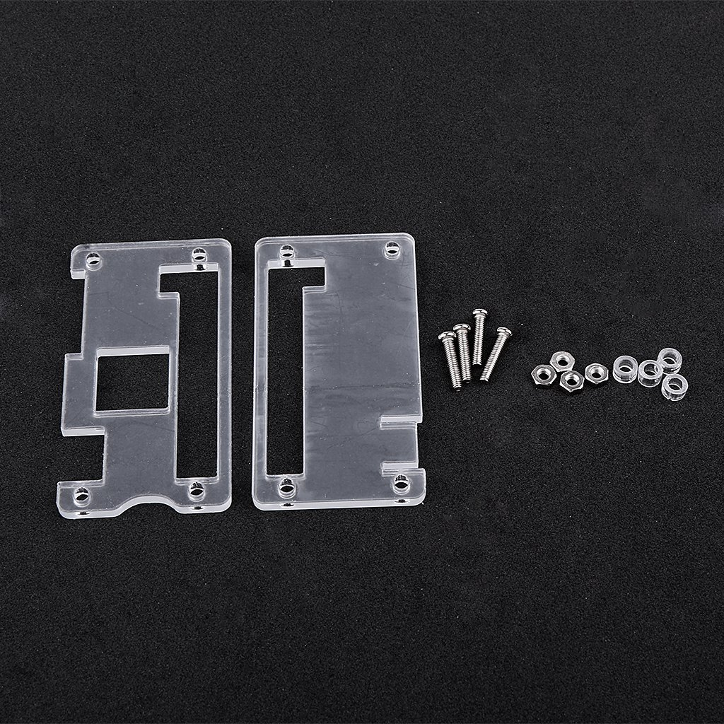 Acrylic Case Cover Enclosure Housing Shell for Raspberry Pi Zero -Clear
