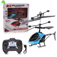 Mini Rc Drone Fly Rc Helicopter Aircraft Dron Infrared Induction Led Light Remot