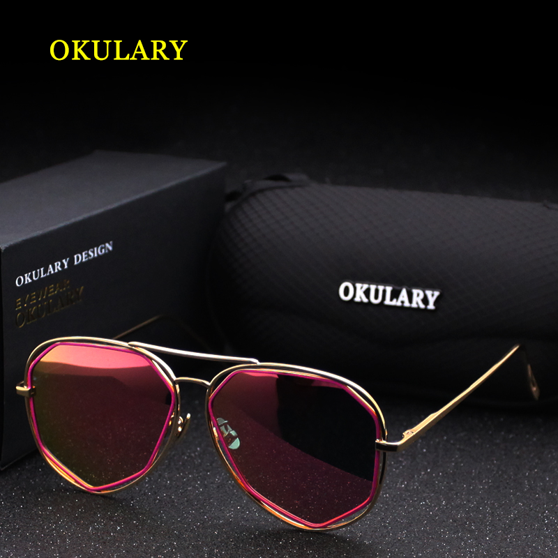 2020 Fashion Polarized Mirror Women Sunglasses 4 Colors Rose Red/Pink/Blue/Silver UV400 With Box Free Shipping 3