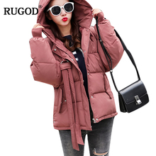 RUGOD 2018 Winter font b Jacket b font and Coats font b Women b font Casual