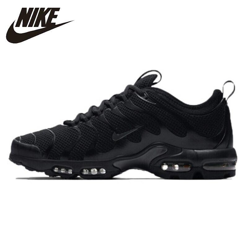 Nike Nouvelle Arrivée Air Max Plus Tn Hommes Chaussures de Course Respirant Classique Coussin D'air de Temps De Loisirs Sneakers 898015- 005