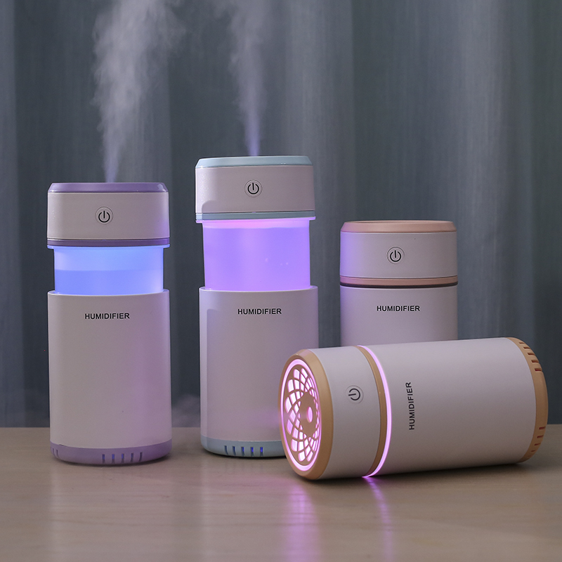 200ml Air Humidifier USB Ultrasonic Humidifier Mini Aroma Diffuser Air Purifier LED Light Humidificador for Home Car Mist Fogger in Humidifiers from Home Appliances
