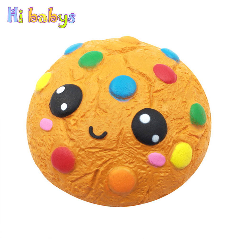 Mobile Phone Straps Mobile Phone Accessories Bakeey Squishiestoys Cookie Sandwich Biscuit Cute Slow Rising Rebound Gift Decor Fun Toys Kids Adult Slimetoy Stress Reliever