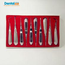 10 pcs/set Handuse outils de scaler instruments dentaires outils de curretage dentaires