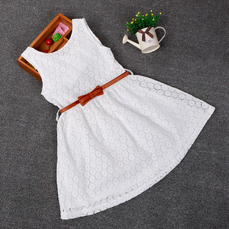Dresses Children Baby Kids Girls Clothes Lace Hollow Out Sleeveless Cool Princess Summer Dress Clothes Kid 2 3 4 5 6 7 Years New baby kids girls clothes dresses sleeveless cool princess lace hollow out summer dress clothes kids 2 3 4 5 6 7 years new cute