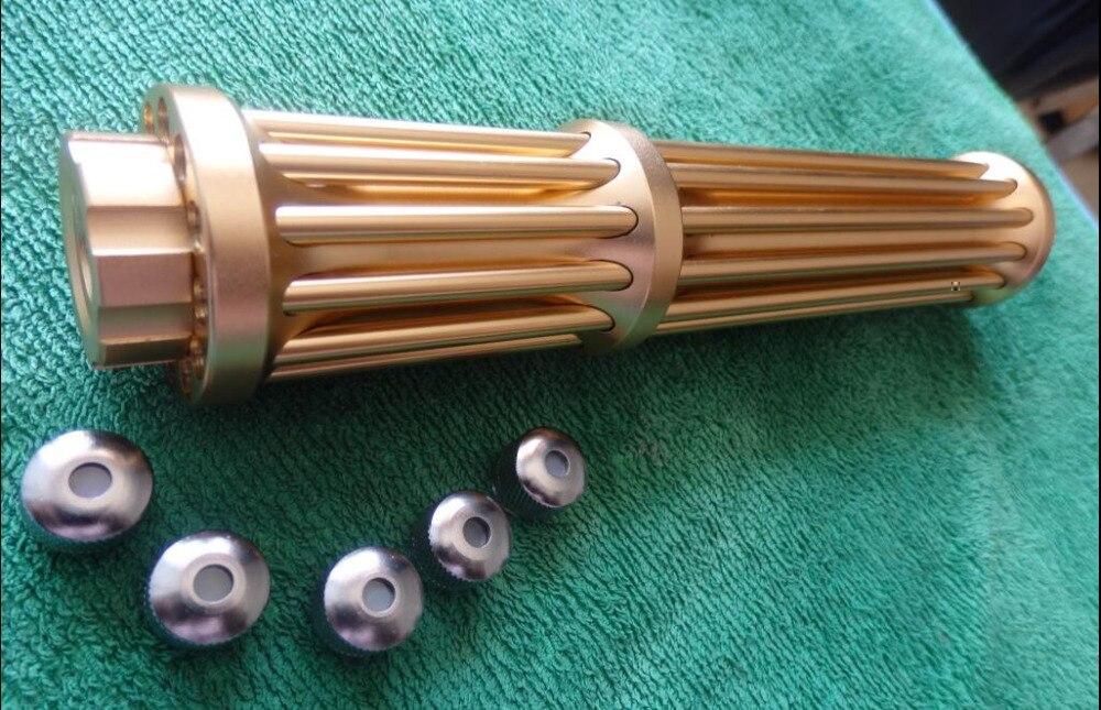 Haute puissance Militaire 500 w 5000000 m 450nm Bleu pointeur laser stylo Brûler L'allumette soudure w/étoilé chapeaux lazer canon laser gun Torche