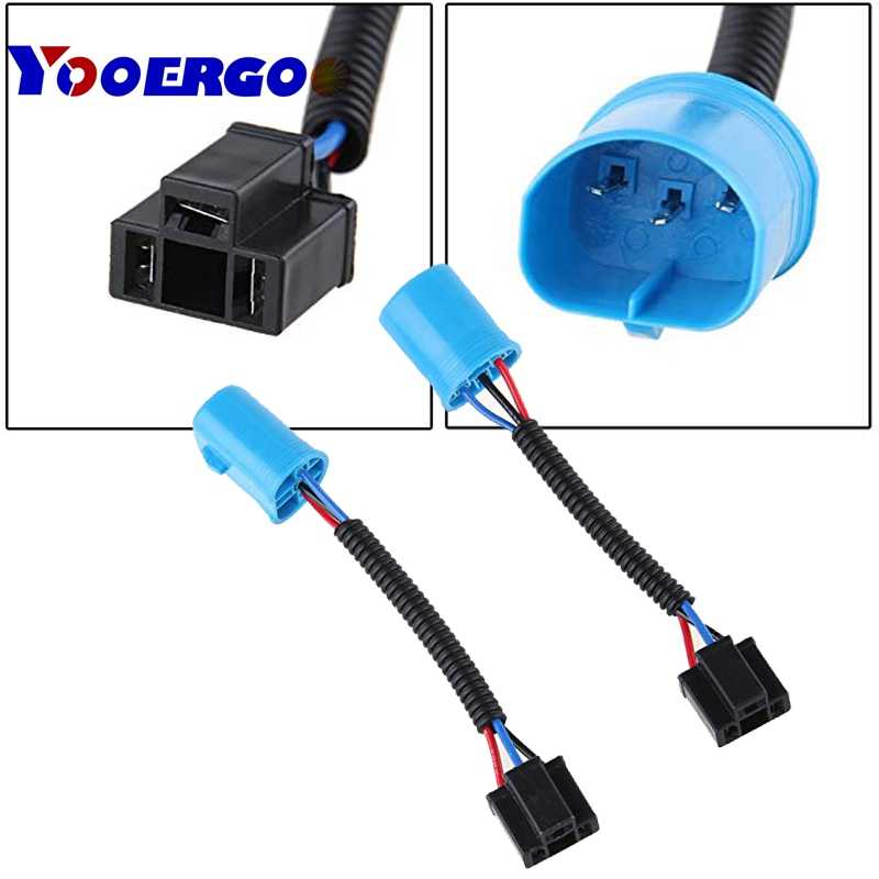 9007 to H4 Adapter Headlight Conversion Cable Wiring Harness Adapter H Wiring Harness Adapter on