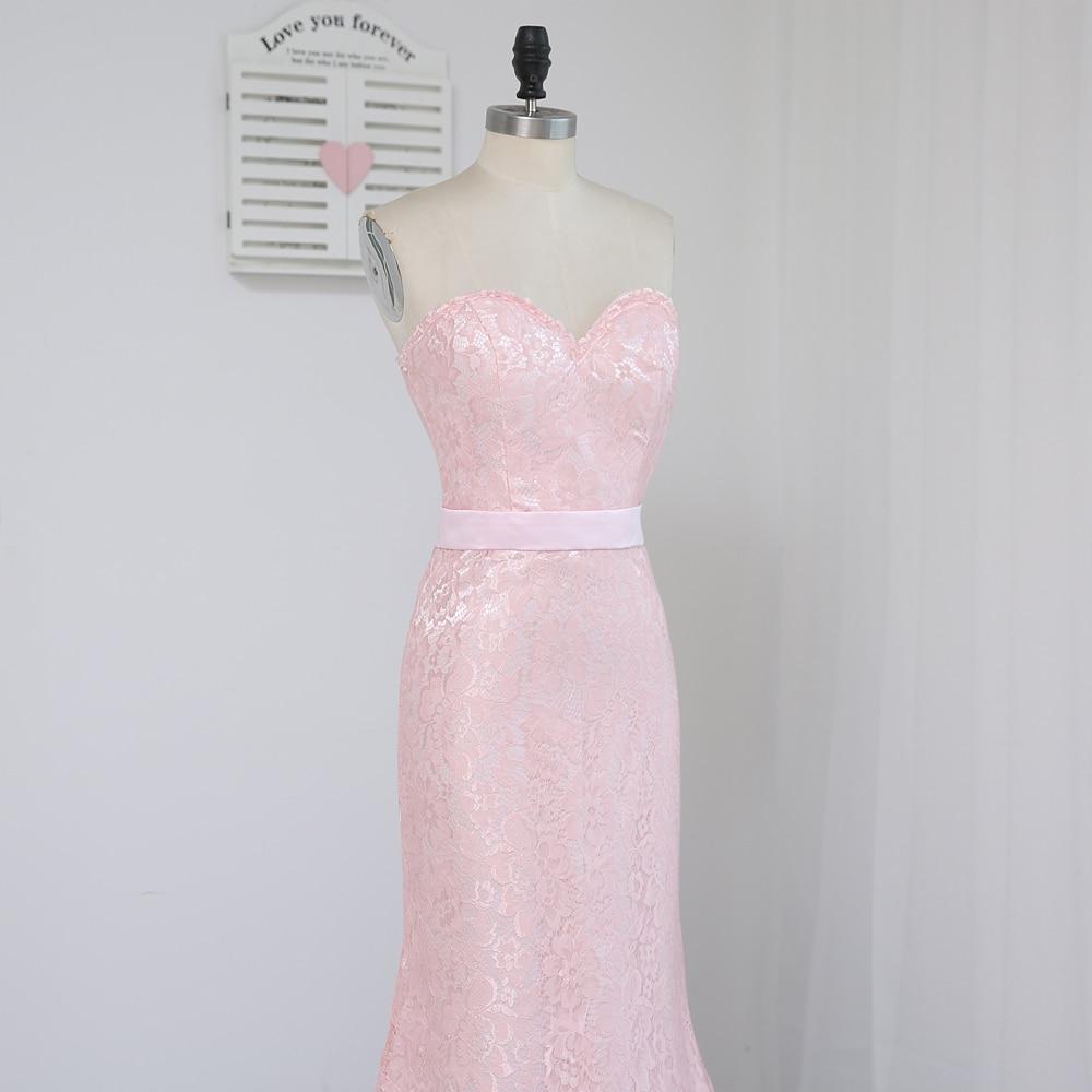 HVVLF 2019 Billige brudepike kjoler under 50 Mermaid Sweetheart - Kjoler til bryllupsfesten - Bilde 3