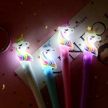 SAILEROAD Kids Unicorn Light Toys Luminous Light Pen Glow In