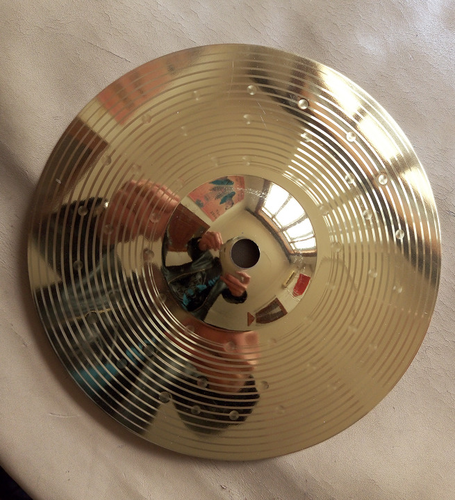 ABSCuencos Cuarzo Crash Gongs batterie cymbale Ride charleston rythme 14