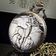 2016 Retro Estilo Antiguo Forsining Marca de Lujo Superior de la Marca de Invierno Elk Logo Diseño del Amor de Madre de Viento de Alta Calidad de Los Relojes de Cuarzo