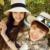 Chun xia nueva cúpula de techo con ropa fina cuenca del sombrero de ala ancha sombrero de paja topi M estándar en Europa y el sombrero de la playa