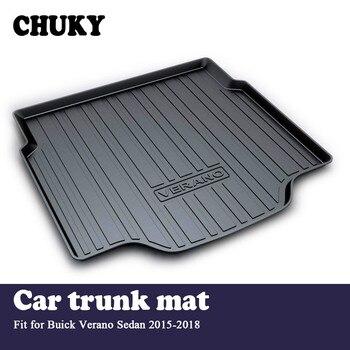CHUKY For Buick Verano Sedan 2015 2016 2017 2018 Car Cargo rear trunk mat Boot Liner Tray Waterproof Anti-slip mat Accessories