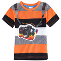 orange black gray boys orange t shirts kids clothes,boys children t shirts,clothing for boys,children baby t-shirts enfant