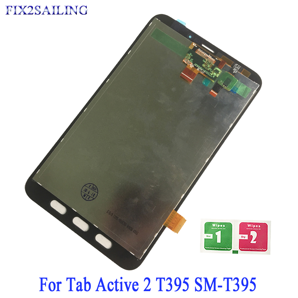 New Lcd For Samsung Galaxy Tab Active 2 T395 Sm-t395 Full Touch Screen Digitizer Lcd Display Panel Assembly Replacement Parts Tablet Lcds & Panels Computer & Office