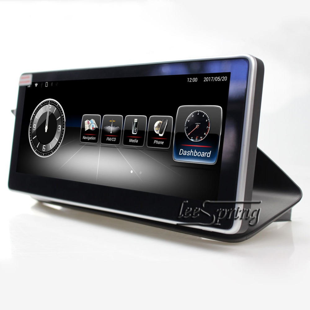 Lecteur multimédia de Navigation GPS de voiture système Android 10.25 pouces pour Mercedes Benz classe E W212 E200 E230 E260 E300 S212 2010-2012