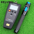 KELUSHI 2 In 1 FTTH Fiber Optic Tool with APM-820 Optical Power Meter 1MW Visual Fault Locator Cable Tester With SC Adapter