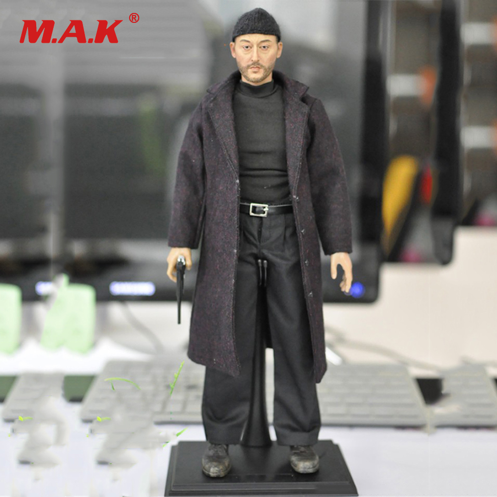Birthday Gift1:6 Scale Leon The Professional Jean Reno Full Set  Action Figure Model Toys KMF038 for Collections 1 6 scale full set male action figure kmf037 john wick retired killer keanu reeves figure model toys for gift collections