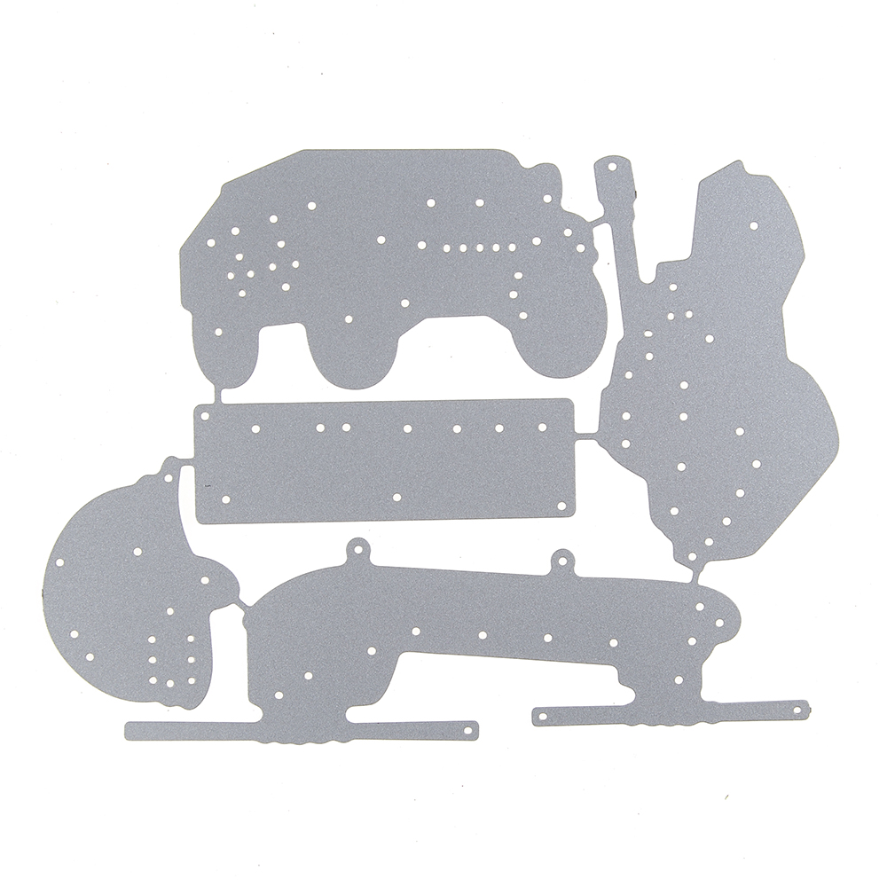 Army Fighter Marine Corps Tank Template Metal Cutting Die Stencil ...