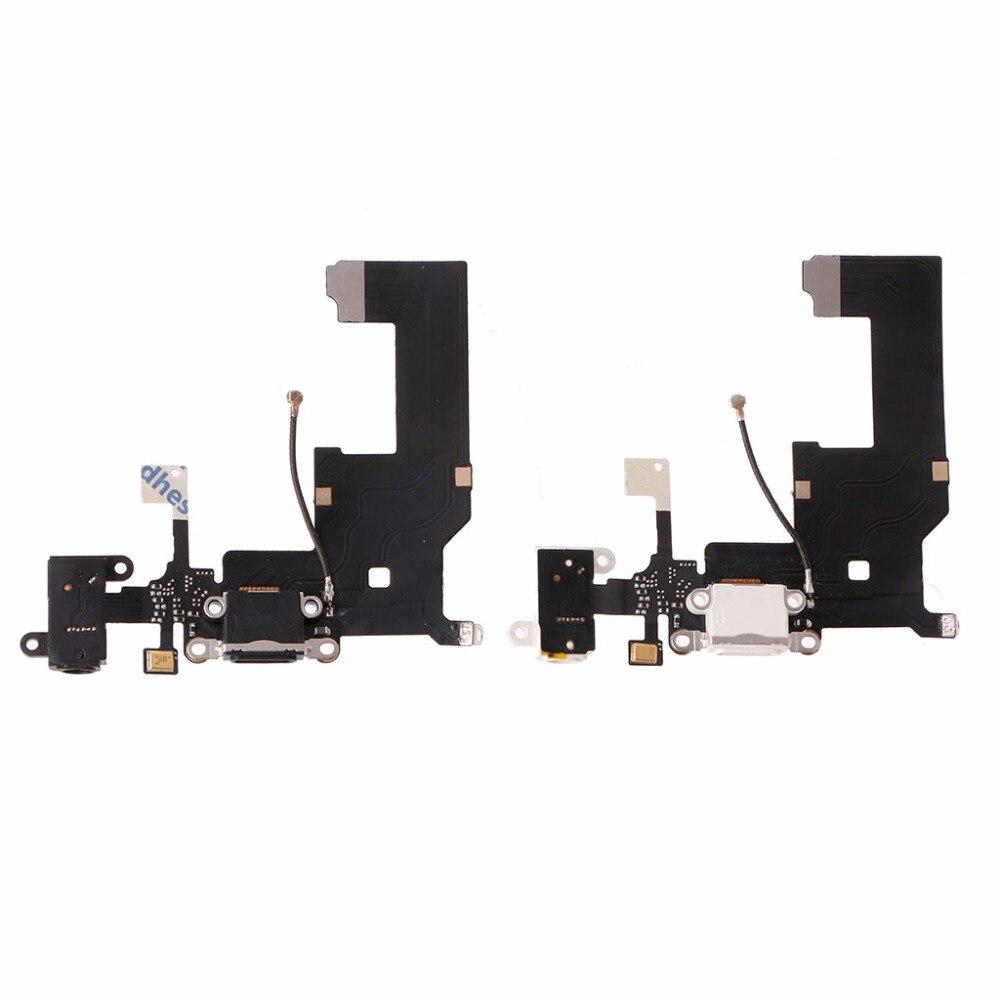 Standard Size USB Charging Port Connector Micphone Earphone Jack Flex Cable Parts For iPhone 5/5S/6/6plus/6s/6s plus/7/7plus