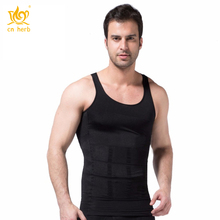 Cn Herb Mens Posture Correction/support/pain Relief Slimming Body Vest Shirt Free Shipping