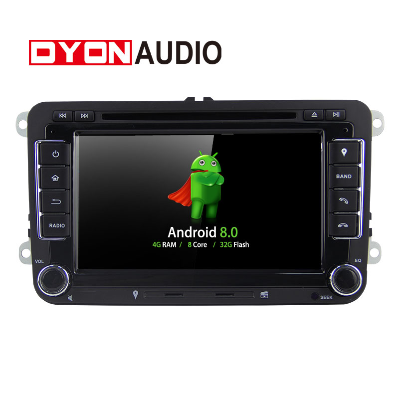"""Android 8.0 Autoradio Car DVD 7""""Capacitive touch screen  RK PX5 Octa-core Car GPS BT Player For VW Touran stereo car audio"""