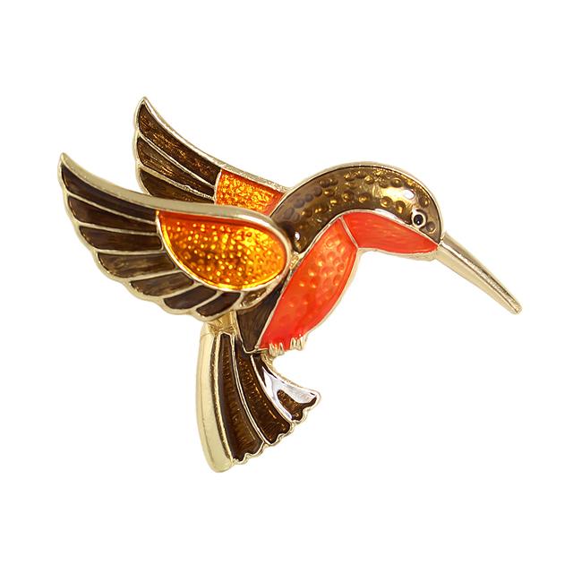 Cute Hummingbird Brooches