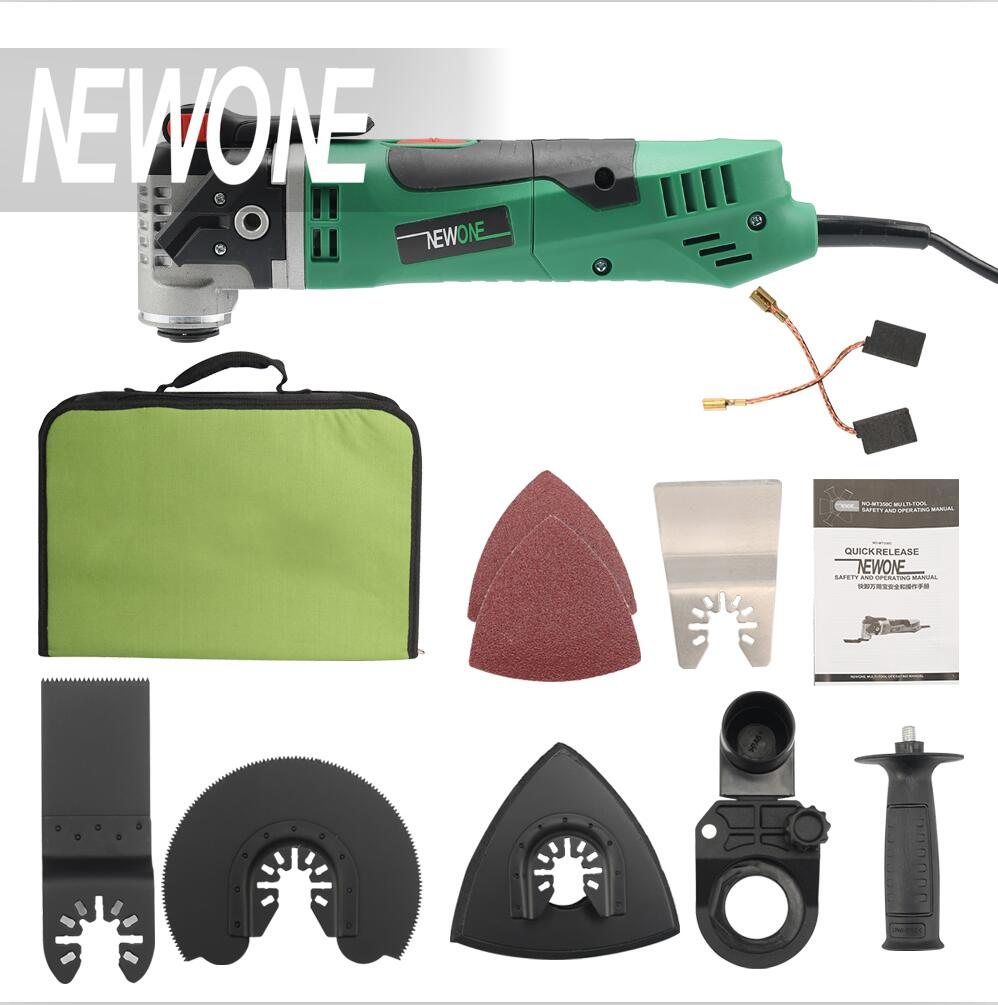 NEWONE Multi-Function Electric Saw Renovator Tool Oscillating Trimmer Home Renovation Trimmer woodworking tool with fabric bag odin&bosch tool bag multi function electric woodworking repair bag hardware electric belt