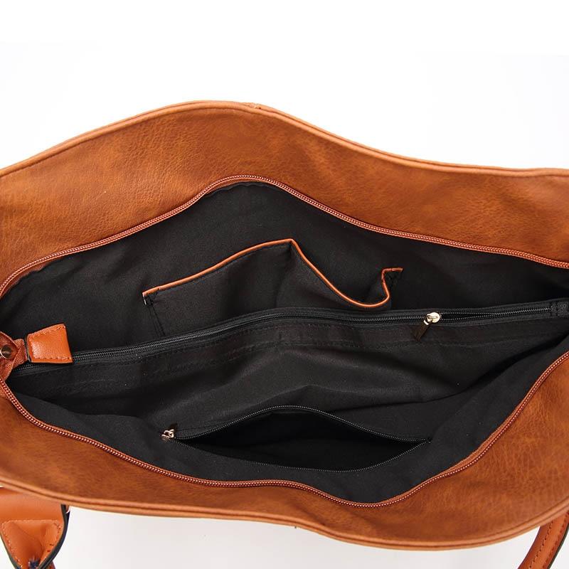 Women Handbag Female Pu Leather Bags Handbags Ladies Vintage Shoulder Crossbody Bags Totes Zipper 2018 Hot Fashion in Shoulder Bags from Luggage Bags