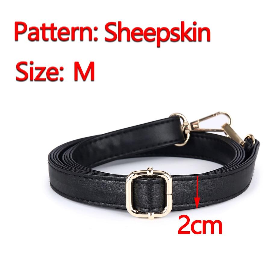 preta substituição diy pu couro Size : S(1.5cm), M(2cm), L(2.5cm), Xl(3cm)