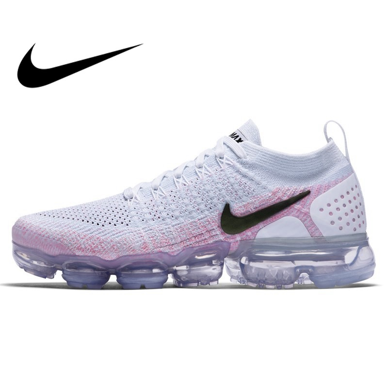 Original New NIKE Air Max Vapormax Flyknit Women's Running Shoes Sports Mesh Breathable Waterproof Slow Shock Sneakers Women original nike leather waterproof air max women s running shoes sneakers