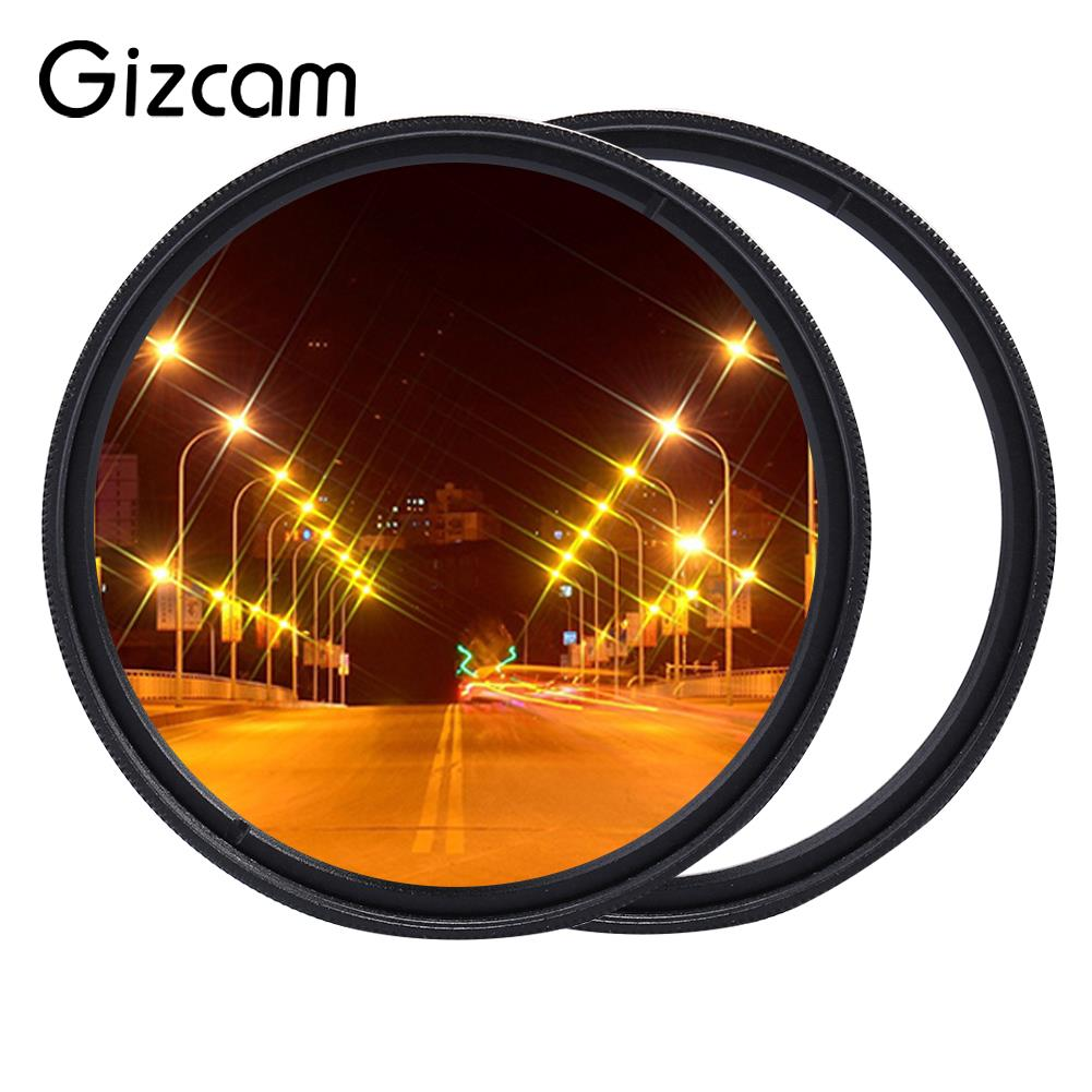 Effective Star Filter Camera Star Filter Star Line Filter 52mm HD Lens Cap Photography Photo Accessories Cover