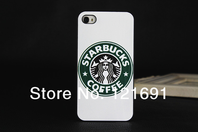 Fashion Starbucks Coffee Phone case iphone 4 4S 5 5G 5S protective Hard apple 5, - Shenzhen LongSheng Technology Co., LTD store