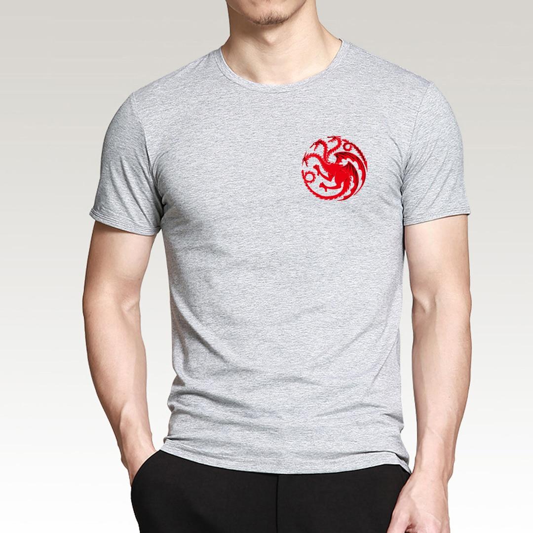 Targaryen Fire & Blood Game of Thrones Men T Shirts