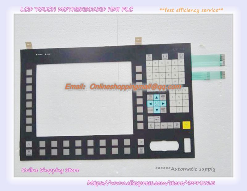 New Membrane keypad for OP012 6FC5203-0AF02-0AAL new membrane keypad for beijer e150 repair new 100