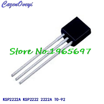 25pcs/lot KSP2222A KSP2222 2222A TO-92 New Original In Stock