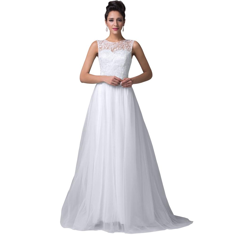 Grace Karin White Evening Dresses Abendkleider Women Lace Mother of ...