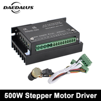 DC 20 50V Stepper Motor Driver 0.5KW CNC Controller WS55 220 DC Driver For 500W Brushless Spindle Motor