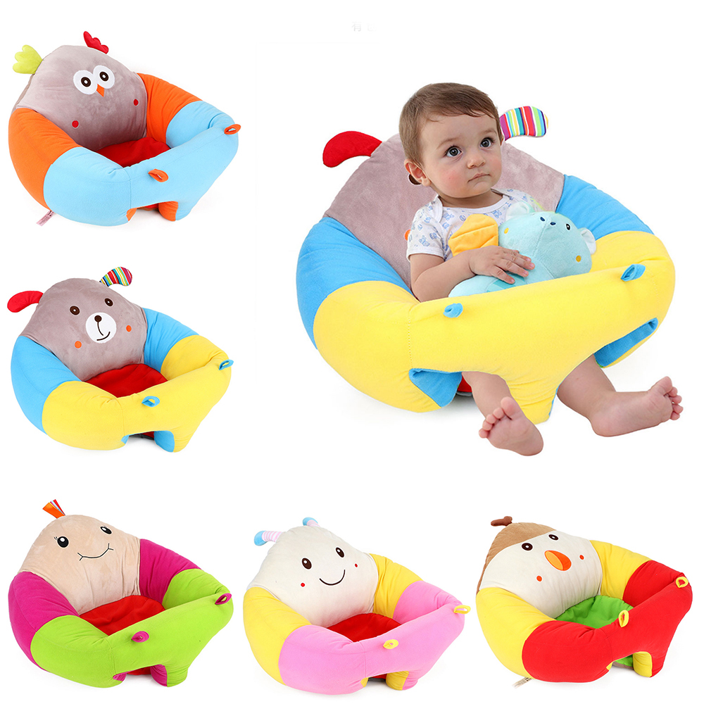 Infant Baby Seat Sofa Learning Sitting Seat Chair Portable Feeding Chair Children's Plush Toy Baby Sofa Children's Plush Toy