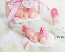 Small Size Baby Girl Candle