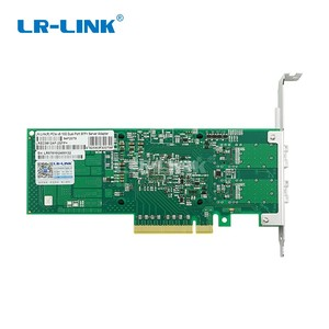 Image 4 - LR LINK 9812AF 2SFP+ dual port 10Gb ethernet fiber optical network Card PCI Express x8 Network adapter server lan nic