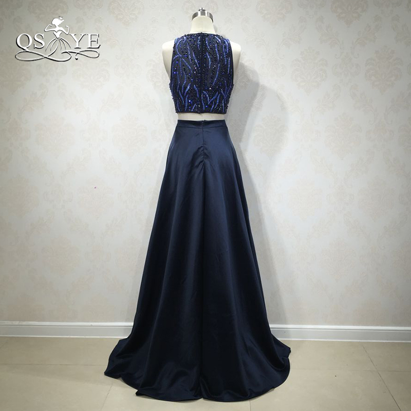 Weilinsha Sexy Sweep Train Velour Evening Dresses Sexy Deep V-neck Vintage Beading Crystal Sequined Mermaid Weddings & Events